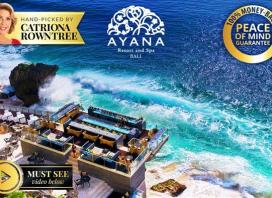 5-Star AYANA Bali & Famed Rock Bar