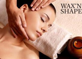 Massage, Facial & Eyebrow Sculpt