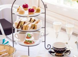 Charming High Tea at Boronia House with Bubbly Starting from $65 for Two People or from $128 for Four People (Valued Up To $240)