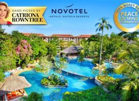 Stay at the 5-Star Novotel, Bali