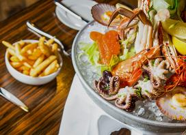 Premium Fresh Seafood Platter for a Weekend Lunch at Hyatt Regency Sydney with a Glass of Wine or Beer Each - Only $65 for Two People or $128 for Four People (Valued Up To $230)