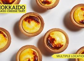 One Flavoured or Original ($3) or 6 Original Tarts ($19) at Hokkaido Baked Cheese Tart, 6 Locations (Up to $23.40 Value)