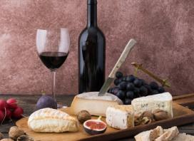 Cheese Platter with Bottle of Wine for Two ($29) or Four People ($55) at Palace Hotel Sydney (Up to $107 Value)