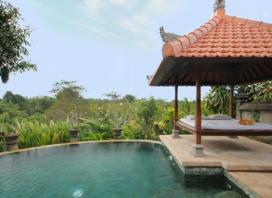 Bali, Ubud: Up to Five-Night Escape for Two People with Breakfast and Massage at Santi Mandala Villa & Spa