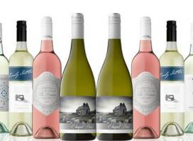 Crisp and Juicy Mixed White and Rosé Dozen, Delivered