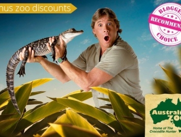 Steve Irwin's Australia Zoo: 1-Day Ticket from $31.50 or 2-Day Ticket from $45.90 with Bonus Discounts (Up to $51 Value)