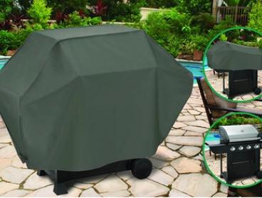 Heavy Duty Four-Burner BBQ Cover - One ($9.95) or Two ($15)