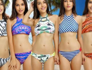 $19 for a High-Neck Tank Bikini in Choice of Style (Don't Pay $99.95)