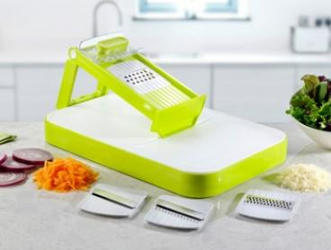 $19 for a 5-in-1 Mandoline Slicer with Cutting Board (Don't Pay Up to $99.95)