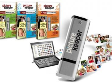 Photo Keeper USB with Capacity for 4,000 ($19), 8,000 ($35) or 16,000 Photos ($59) (Don't Pay up to $129.95)