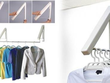 Hidden Multifunctional Clothes Hanger Set: One ($29) or Two ($49)