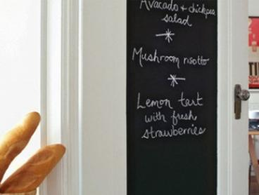 $19 for Two Repositionable Chalkboard Stickers