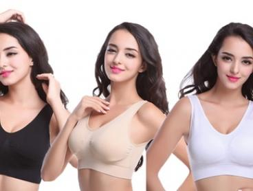 Seamless Zero Bras in Choice of Size - Three ($16) or Six-Pack ($24) (Don't Pay up to $89.90)