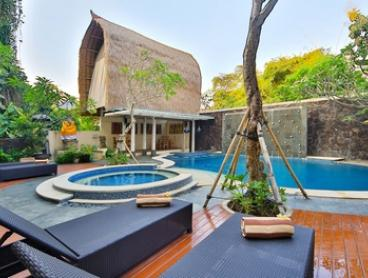 Bali: 2-7 Night Pool Suite Stay including Daily Breakfast, One Dinner and Option to Add Massage at The Adma Umalas