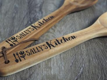 Printed Personalised Two-Piece Kitchen Utensil Set: One ($10), Two ($15) or Three ($20) (Don't Pay up to $89.85)