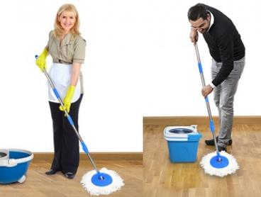 From $29 for a 360-Degree Spinning Magic Mop Set with Two Bonus Heads