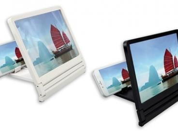 $12 for an HD Smartphone Screen Magnifier with Stand