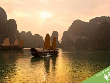 Vietnam: From $699 Per Person for a 10-Day Tour with Standard or Deluxe Accommodation with Halong Tours Booking