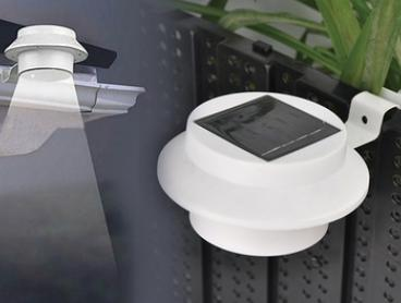 Solar-Powered LED Gutter Lights: Two ($19), Four ($29) or Eight Sets ($49)