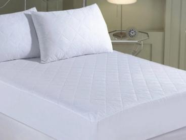 James & Joseph Quilted Cotton Blend Mattress Protector - Single ($16), Queen ($22) or King ($24)