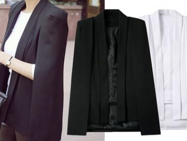 $34 for a Cape-Style Blazer (Don't Pay $99.95)