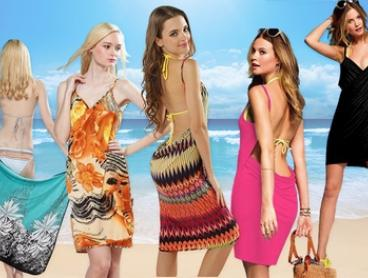 $14 for a Beach Cover-Up Wrap Dress in Choice of Colour