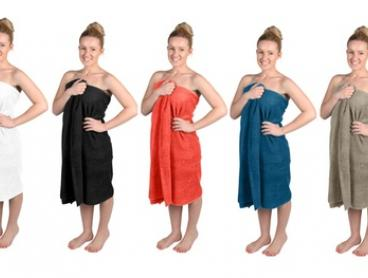$19.95 for a Two-Pack of Giant Bath Towels in a Choice of Five Colours