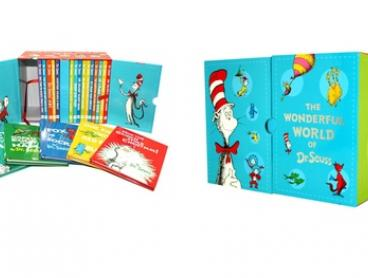 The Wonderful World of Dr. Seuss 20-Book Box Set for $69