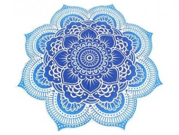 Lotus Flower-Shaped Beach Throw in Choice of Colour: One ($19) or Two ($29)