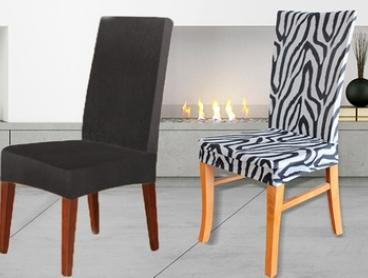 Sure Fit Dining Chair Covers in a Range of Designs - Two ($35) or Four Covers ($65)