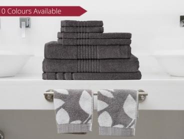Egyptian Cotton Towels - Seven-Piece ($45) or Fourteen-Piece Set ($85) (Don't Pay up to $239.90)