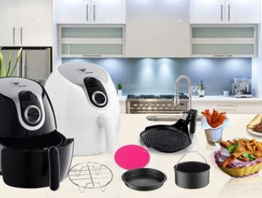 From $135 for a Kitchen Chef 5.5L Air Fryer with Optional Accessories (Don't Pay up to $549.90)