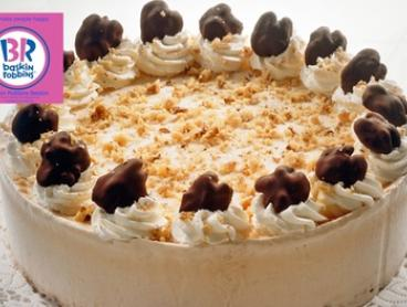 $35 for a Six-Inch Custom-Made Round Cake, or $45 for a Nine-Inch Cake at Baskin Robbins, Beldon (Up to $63 Value)
