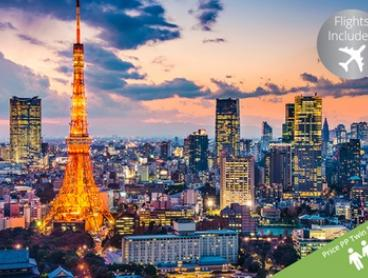 Japan: $2,399 Per Person for 8-Day Tour with 5-Night Hotel Accommodation, Meals, Local Transfers, Tour Guide and Flights