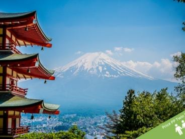 Japan: $2,299 Per Person for an 8-Day Tour with Accommodation, Transfers and Meals with Asia Vacation Group