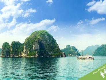 Vietnam, Cambodia and Thailand: From $1,599 PP (+ US$17PP Surcharge) for a 15-Day Tour of  with Halong Tours Booking