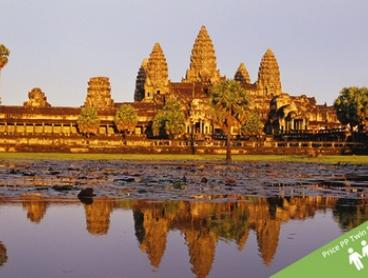 Vietnam + Cambodia: $1,059 PP (+ US$17PP Surcharge) for 14-Day Tour + Transfers and Halong Bay Cruise with Getaway Hanoi