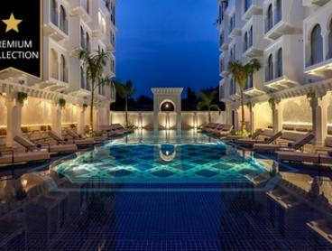 Cambodia, Siem Reap: Two, Three, or Four-Night Luxury Package Stay with Daily Breakfast at Sarai Resort and Spa