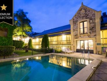 Adelaide Hills:Stay with Continental Breakfast, Sparkling Wine & Spa Credit at M Gallery Mount Lofty House