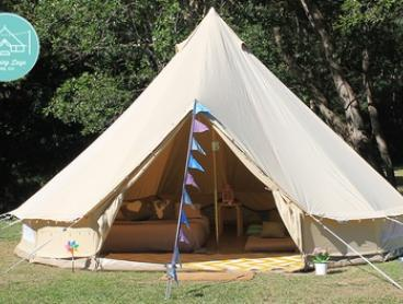 Gold Coast or Brisbane: Two-Night Kids Party Tent Hire from Glamping Days Hire Co