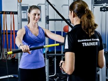 One-Month Gym Membership with Three PT Sessions for One ($29) or Two ($49) at Energize Health Club (Up to $409 Value)