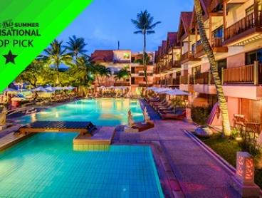 Thailand, Phuket: Two-Five-Night Beachside Package Escape + Daily Breakfast and Welcome Drink at Seaview Patong Hotel