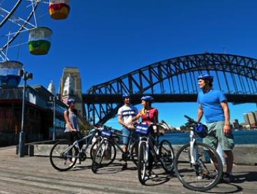 Two-Hour Bicycle Hire: City Bicycle ($17) or Tandem Bicycle ($27) with Sydney Bike Tours, CBD (Up to $50 Value)