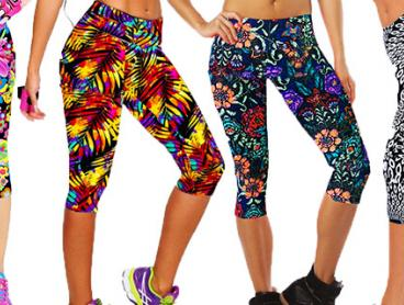 Add Some Flair to Your Fitness Regime with these Fabulous Print Sports Leggings! Available in a Variety of Colours and Sizes From Only $19