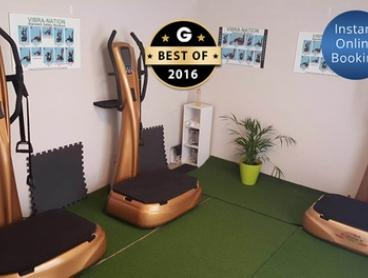 From $35 for Vibration Training Sessions and Anti-Cellulite Massage at Vibra-Nation, Scarborough (From $150 Value)