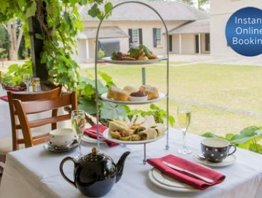 Sparkling High Tea for Two ($59), Four ($135) or Six People ($199) at Lachlan's Old Government House (Up to $318 Value)