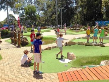 18-Hole Mini Golf for Two ($15), Three ($21) or Four ($26) at City Golf Gordon (Up to $54 Value)