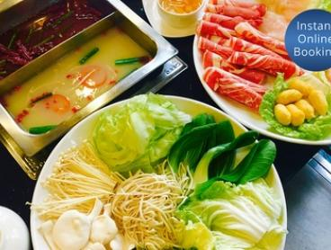 From $49 for Chinese Hot Pot Dining Experience with Wine for Two People at Shancheng Hotpot King, CBD (From $71 Value)