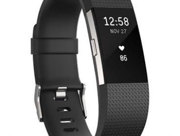 Fitbit Charge 2 HR Activity Tracker Black Large *Extra 20% off with Coupon