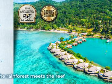 Discover Fiji's Hidden Paradise - Six nights - $1,499 for two adults